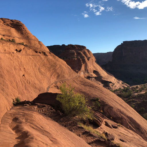Running in the Canyon de Chelly