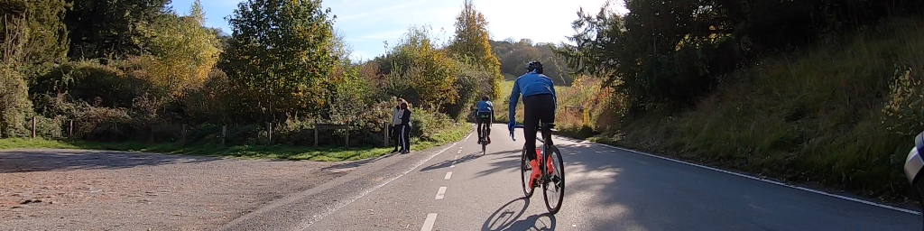 Riding in south-east England