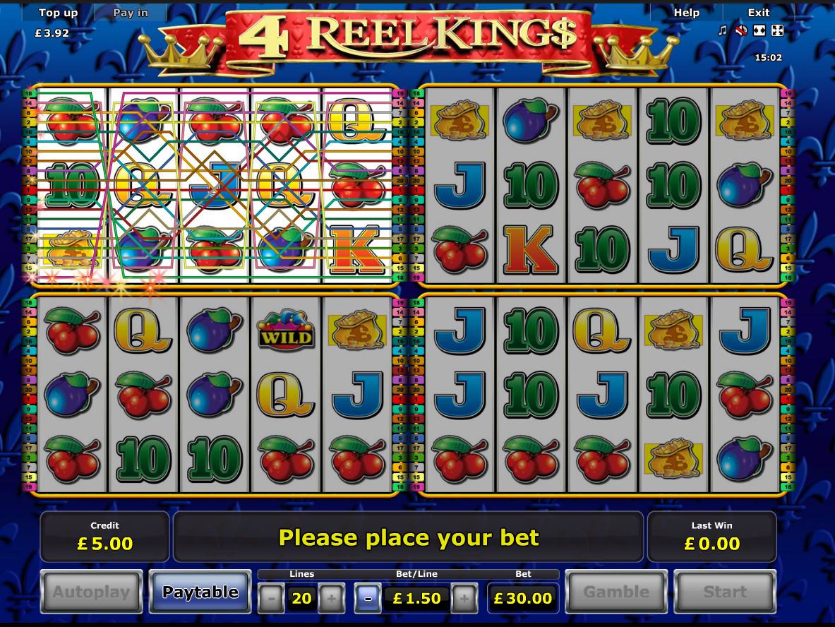 play 4 Reel Kings online