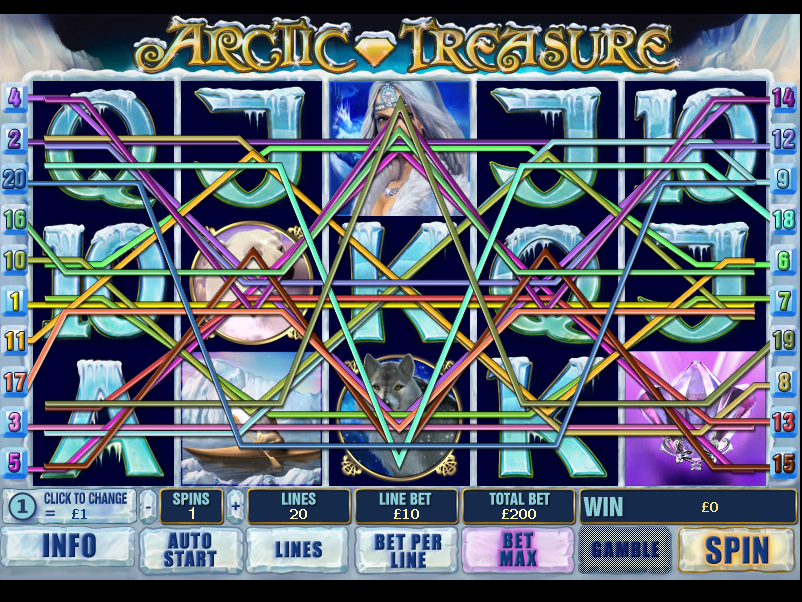 play Arctic Treasure online