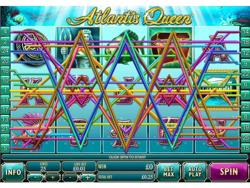 play Atlantis Queen online