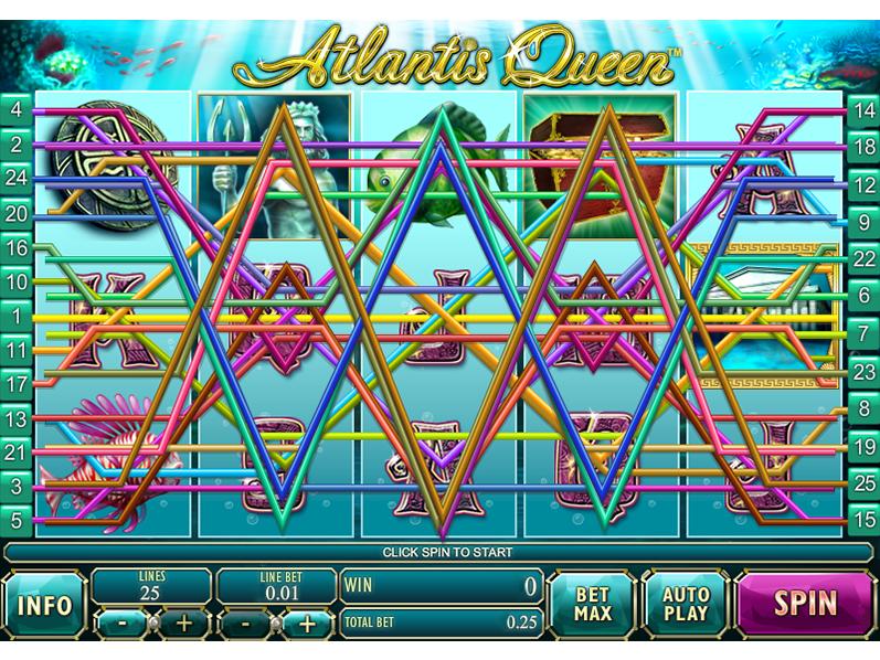 play Atlantis Queen online