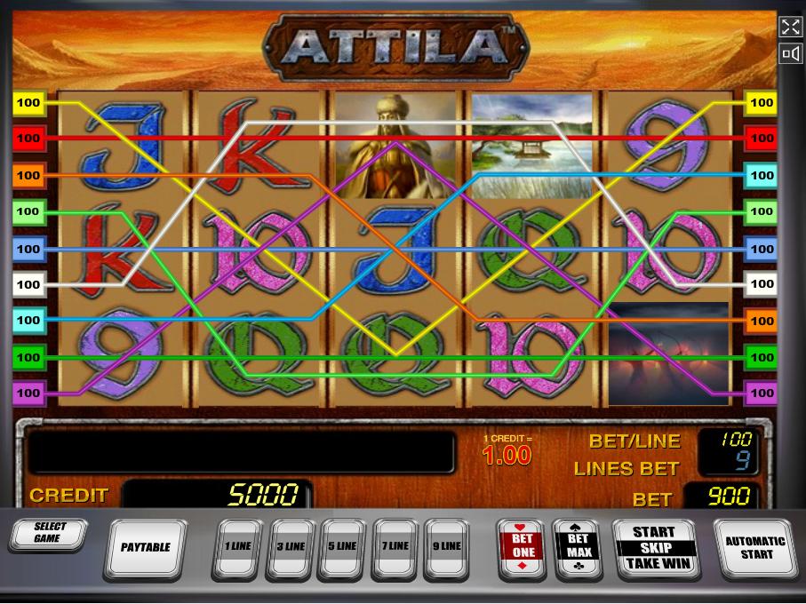 Jetzt Attila online spielen