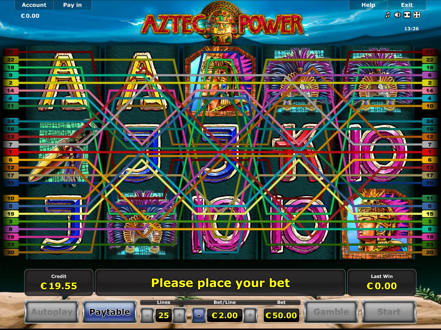 Jetzt Aztec Power online spielen