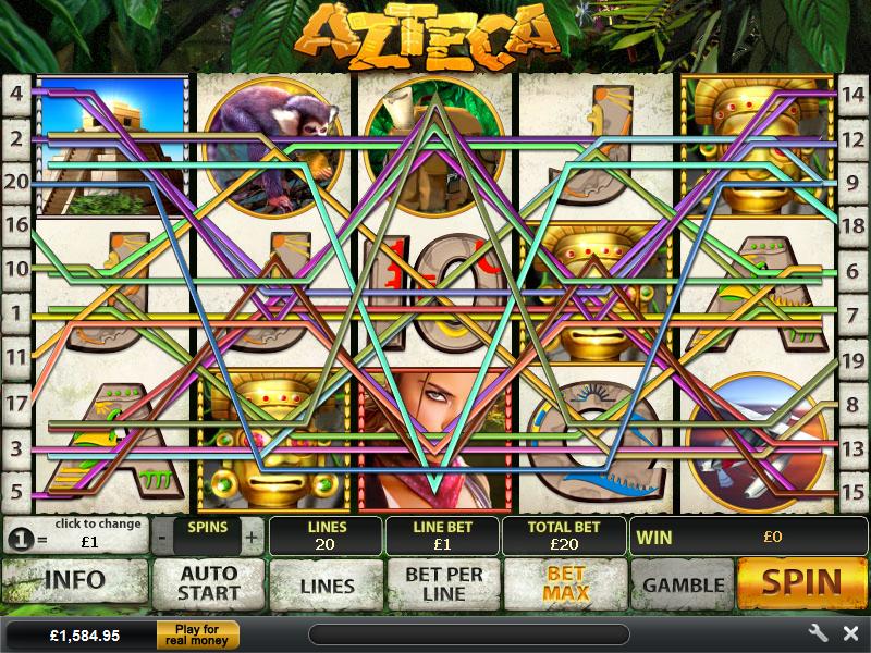 play Azteca online