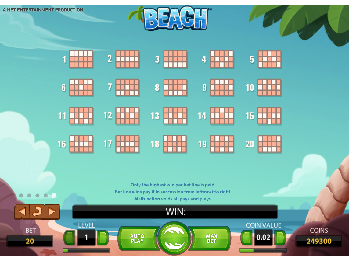 play Beach online