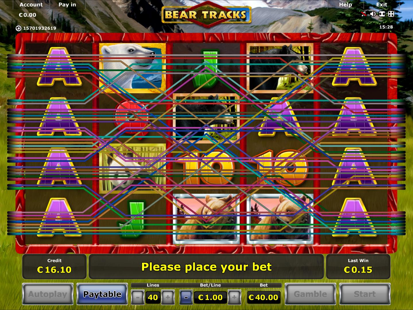 Jetzt Bear Tracks online spielen