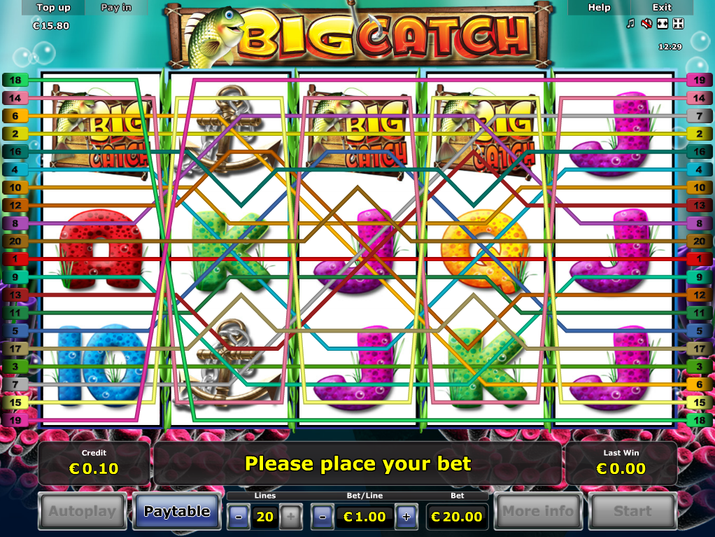 Jetzt Big Catch online spielen