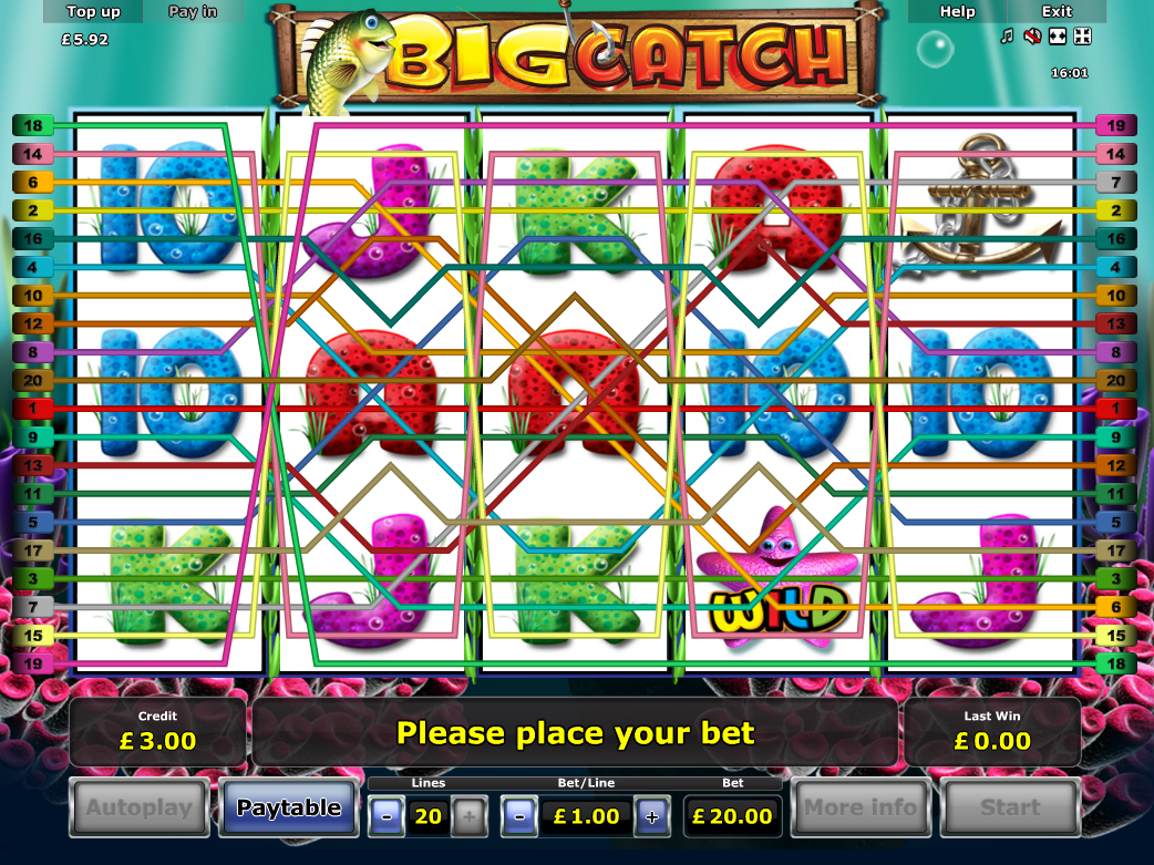 play Big Catch online