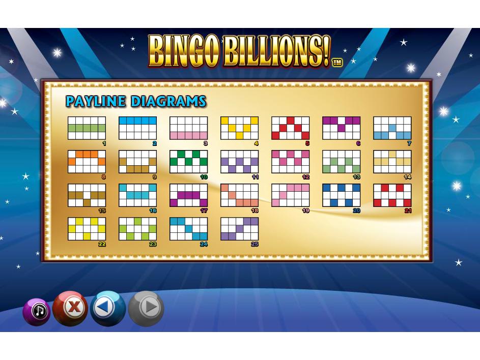Jetzt Bingo Billions! online spielen