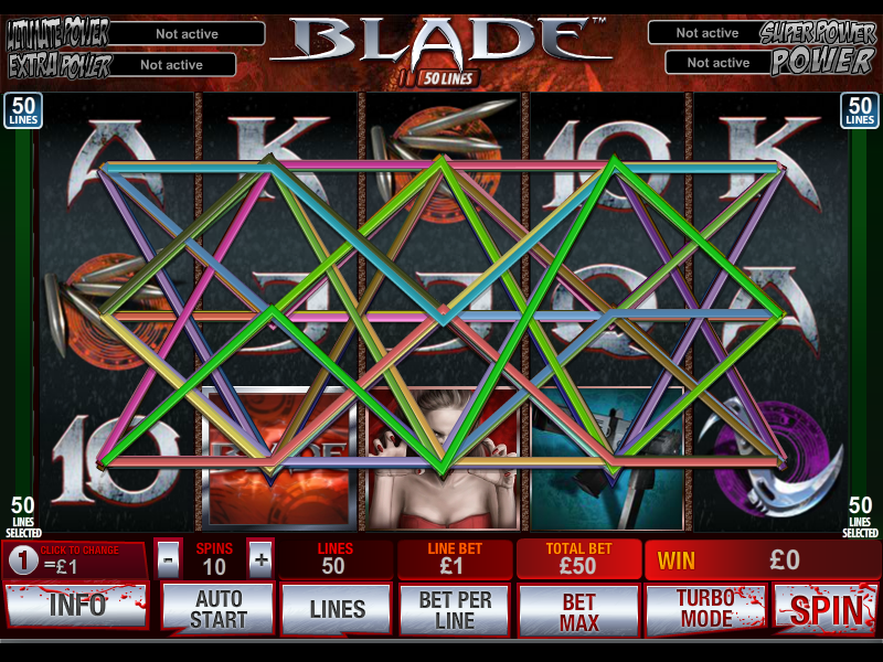play Blade 50-Line online