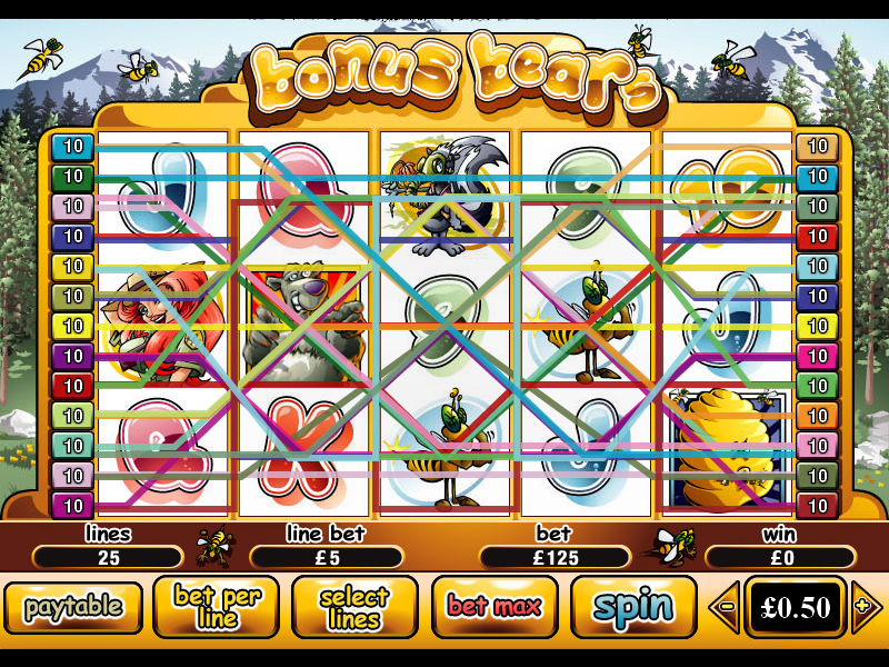 play Bonus Bears online