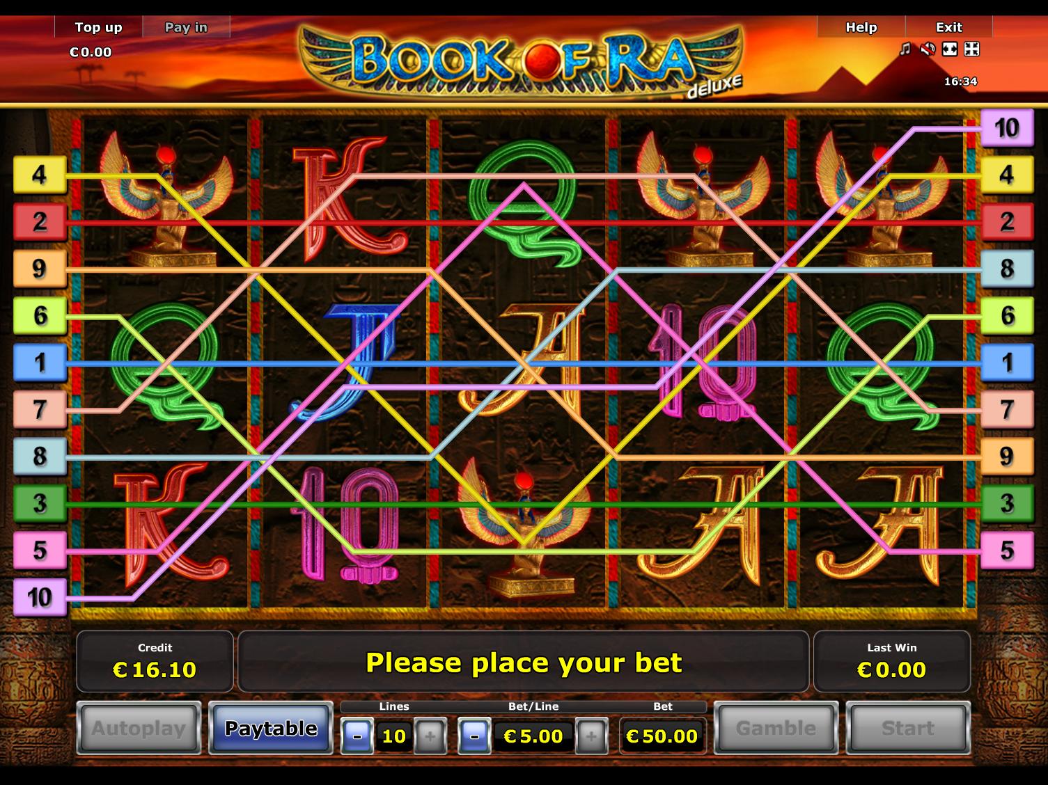 Jetzt Book of Ra Deluxe online spielen
