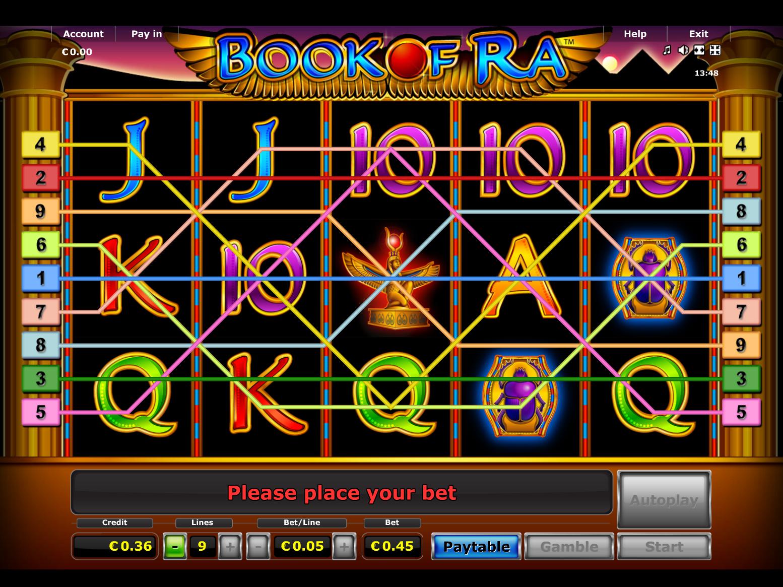 Jetzt Book of Ra online spielen