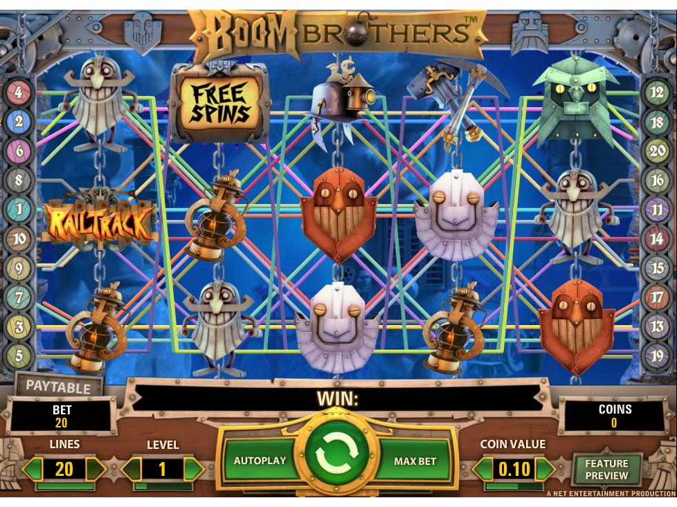 Jetzt Boom Brothers online spielen