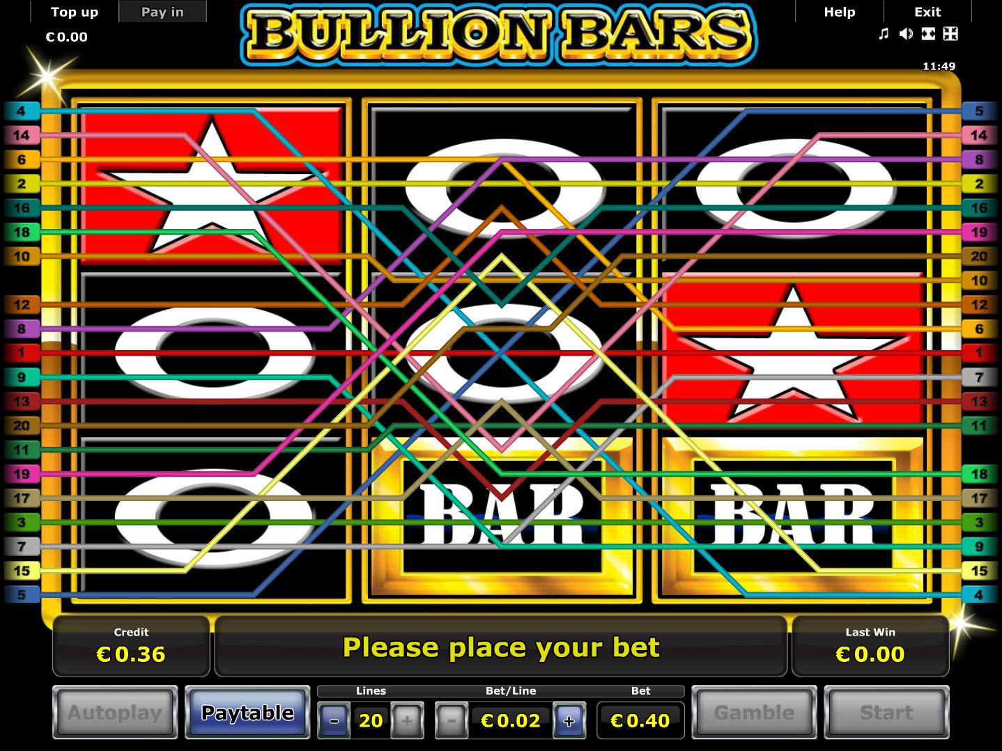 Jetzt Bullion Bars online spielen