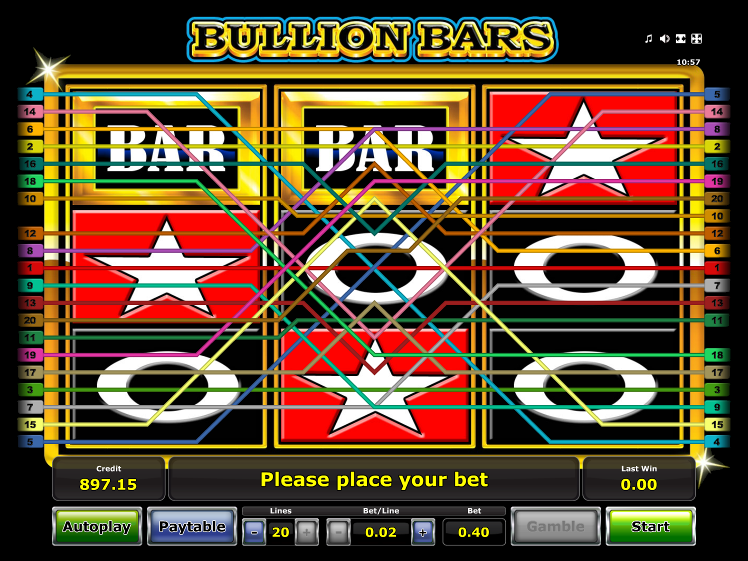 play Bullion Bars online