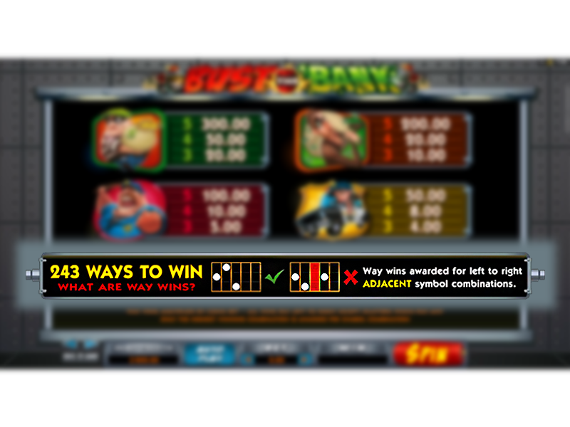 play Bust the Bank online