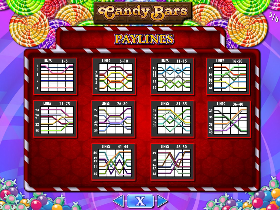 play Candy Bars online