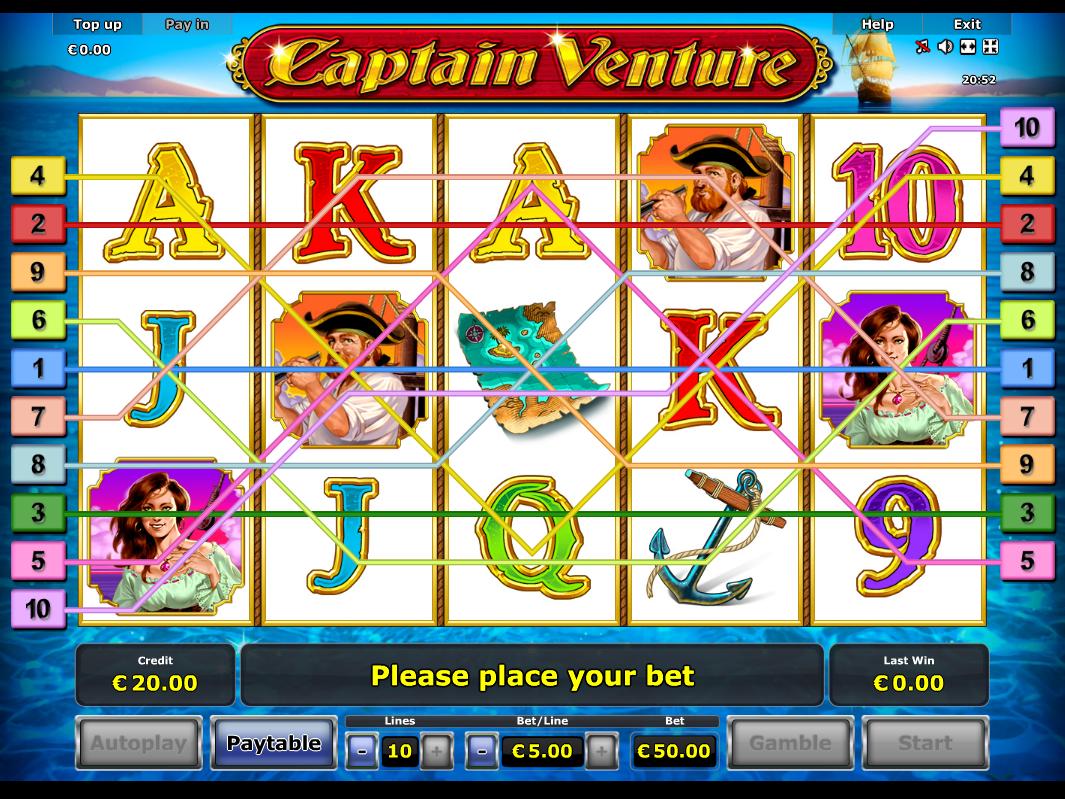Jetzt Captain Venture online spielen