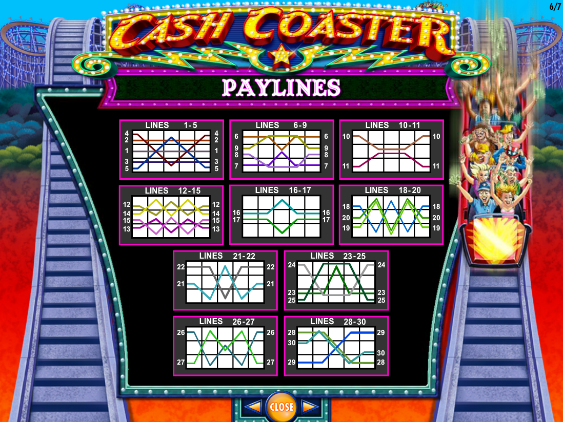 play Cash Coaster online
