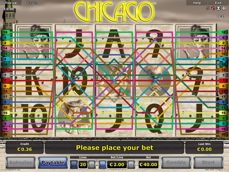 Jetzt Chicago online spielen