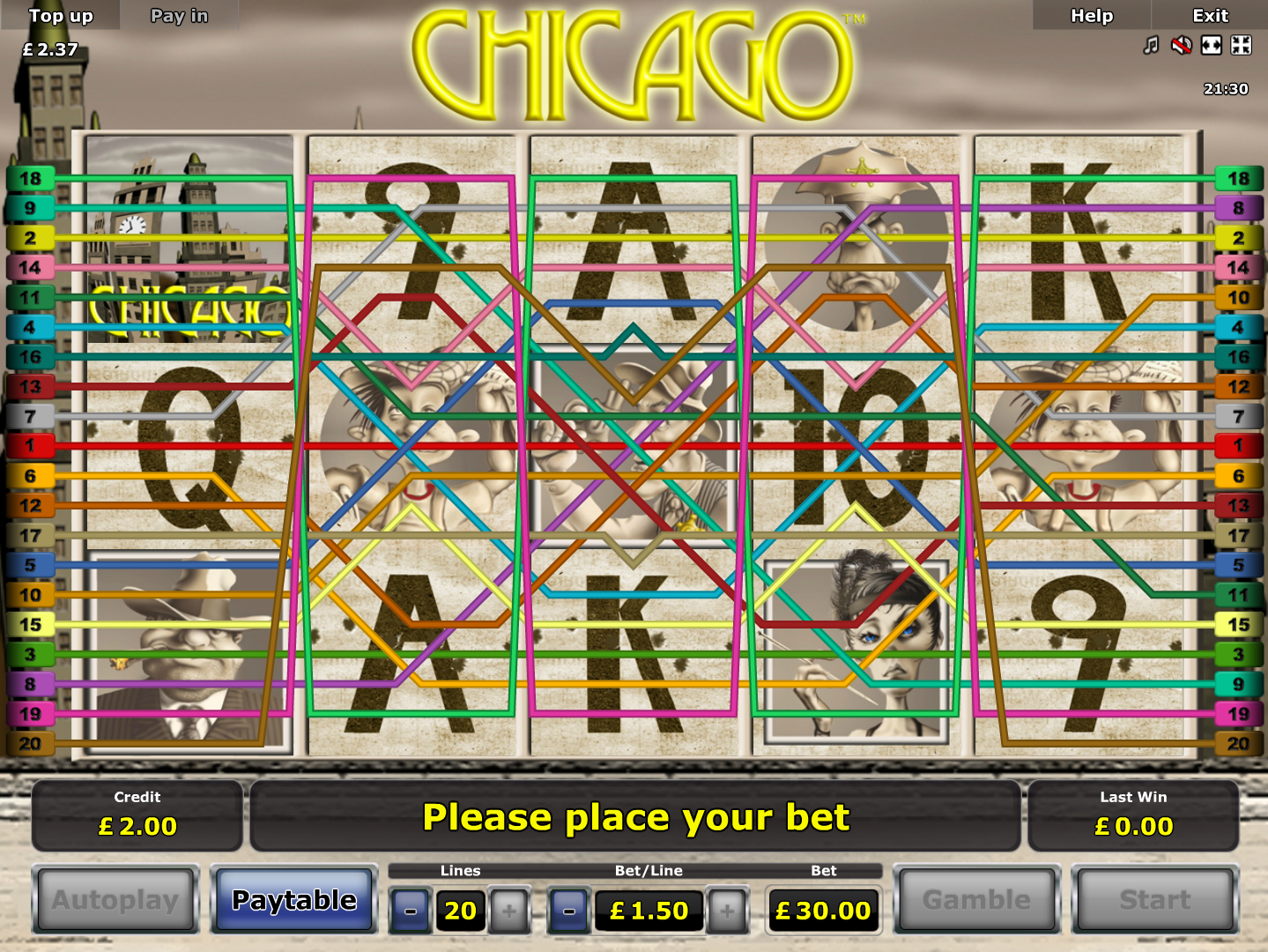 play Chicago online