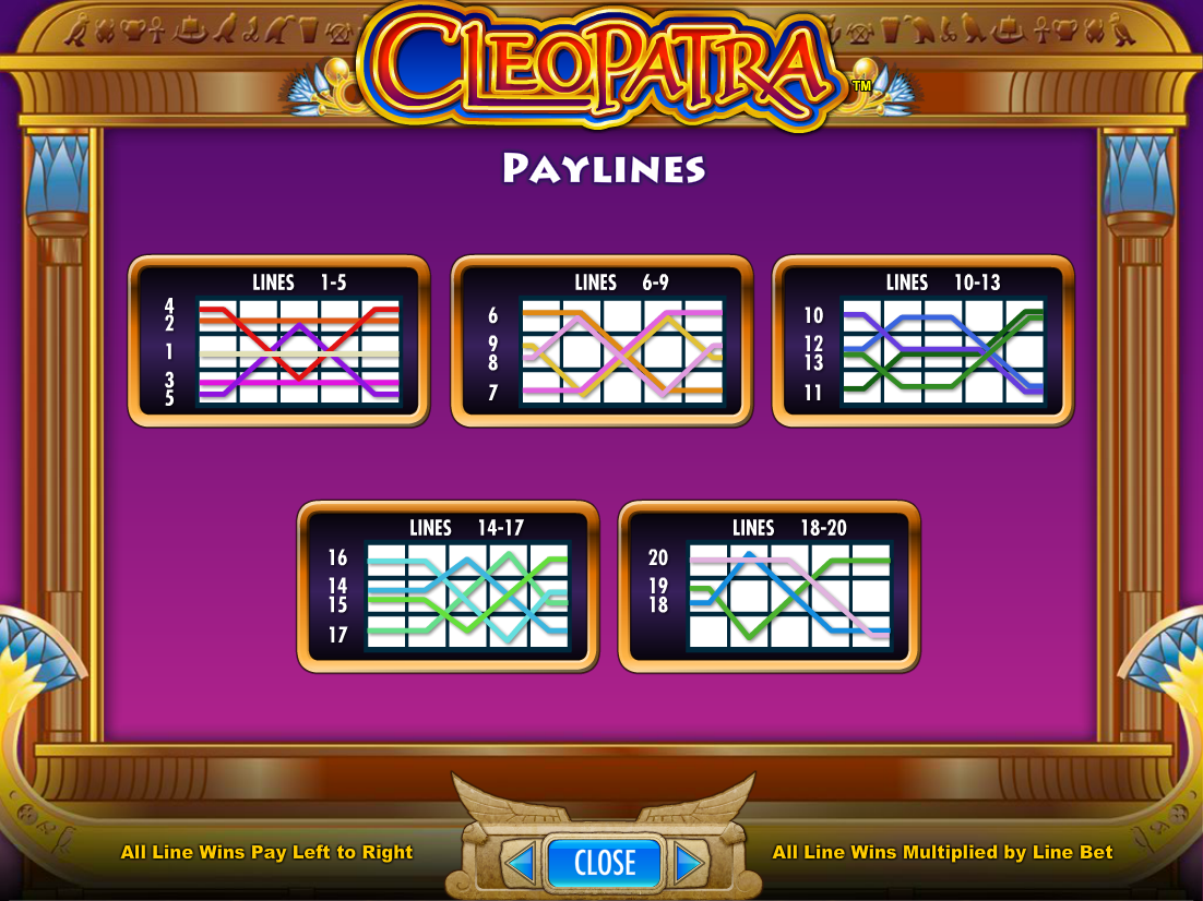 play Cleopatra online