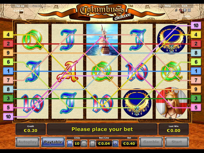 Jetzt Columbus Deluxe online spielen