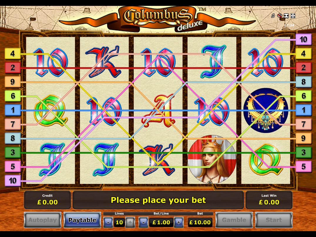 play Columbus Deluxe online