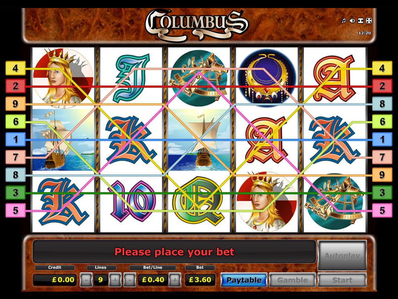 play Columbus online