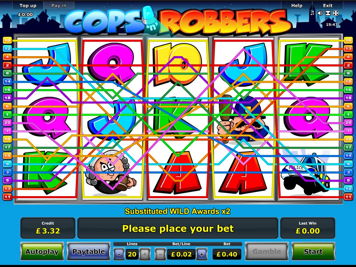 play Cops 'n' Robbers online