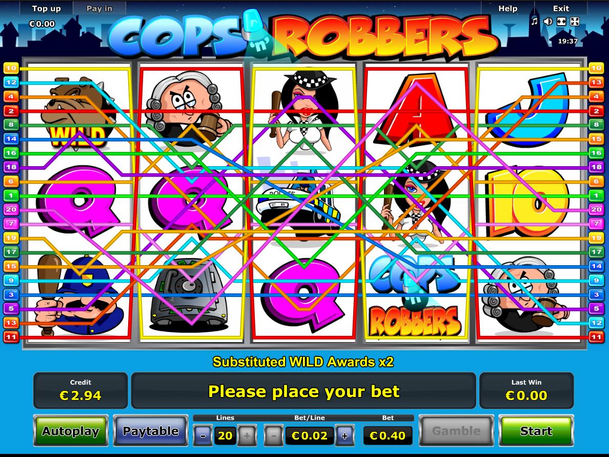 Jetzt Cops 'n' Robbers online spielen