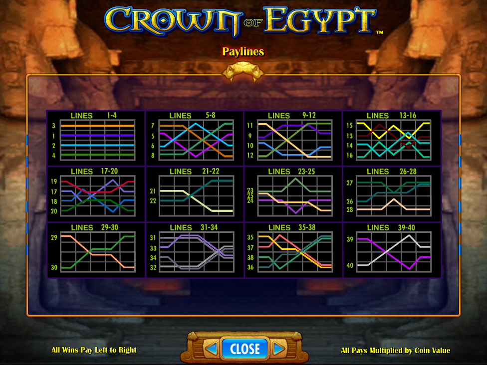 play Crown of Egypt online
