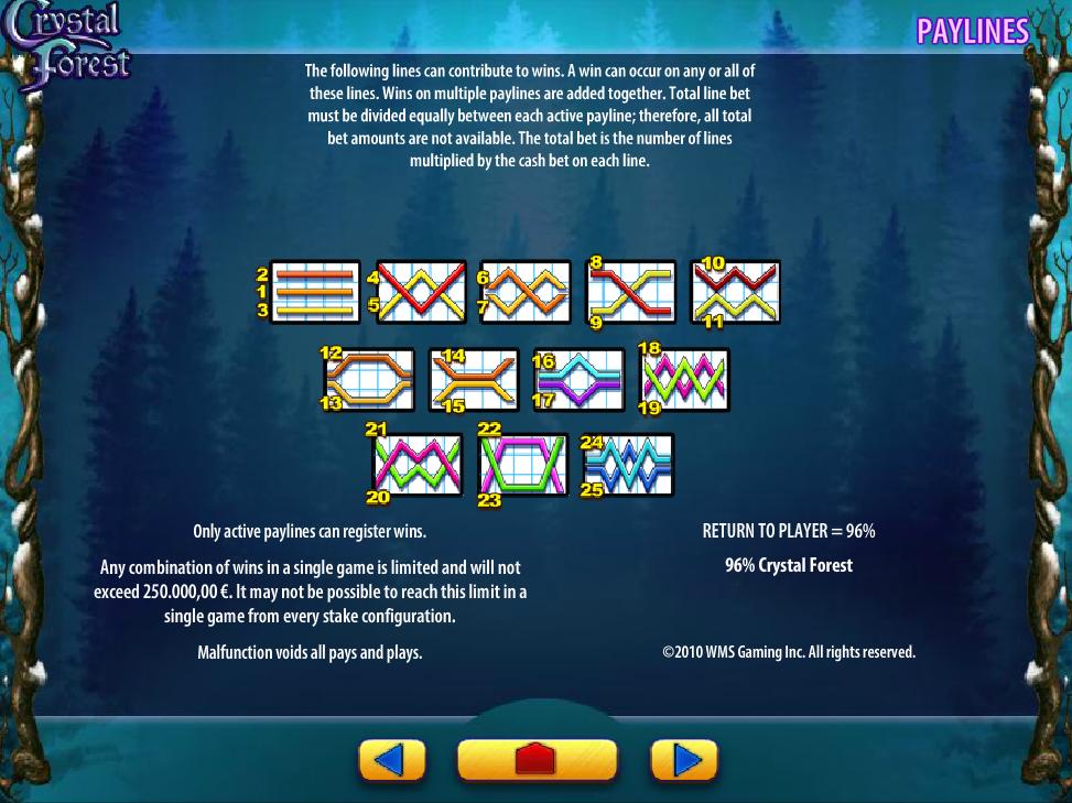 Jetzt Crystal Forest online spielen