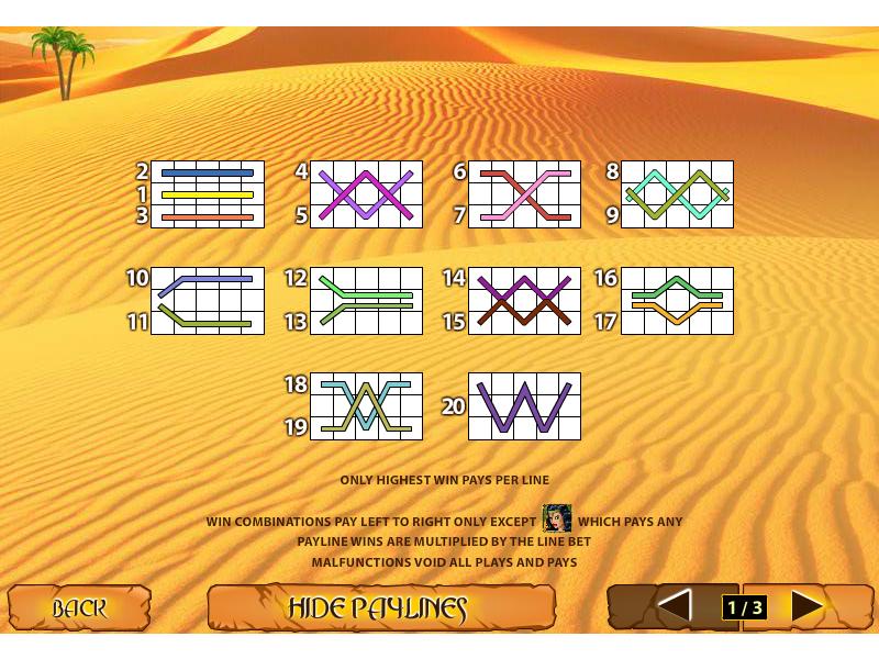 play Desert Treasure II online