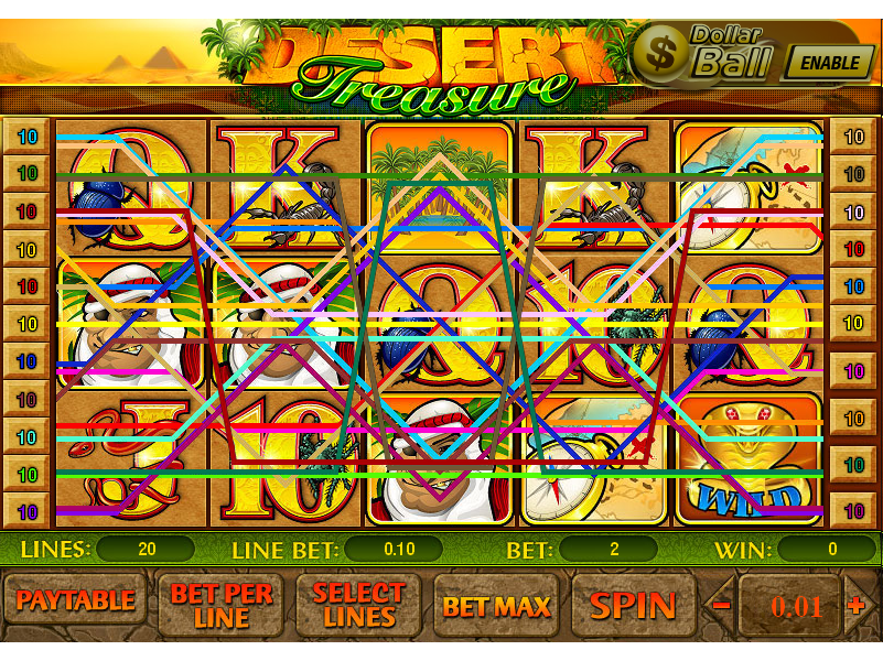 play Desert Treasure online