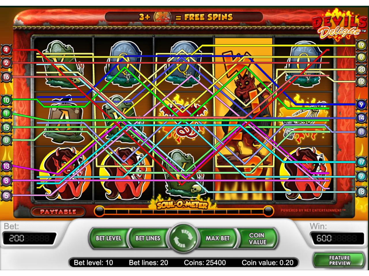 Jetzt Devil's Delight online spielen