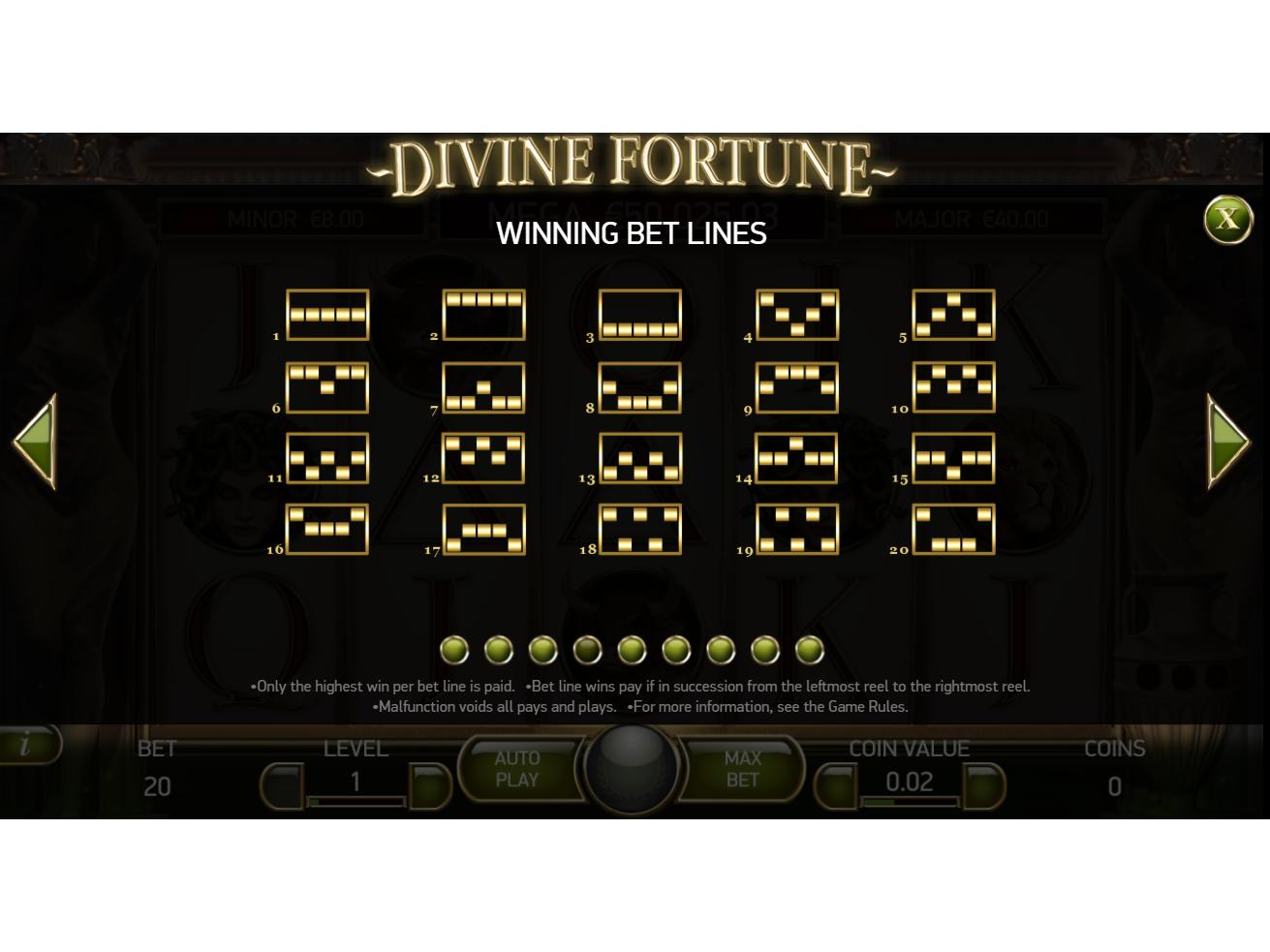 Jetzt Divine Fortune online spielen