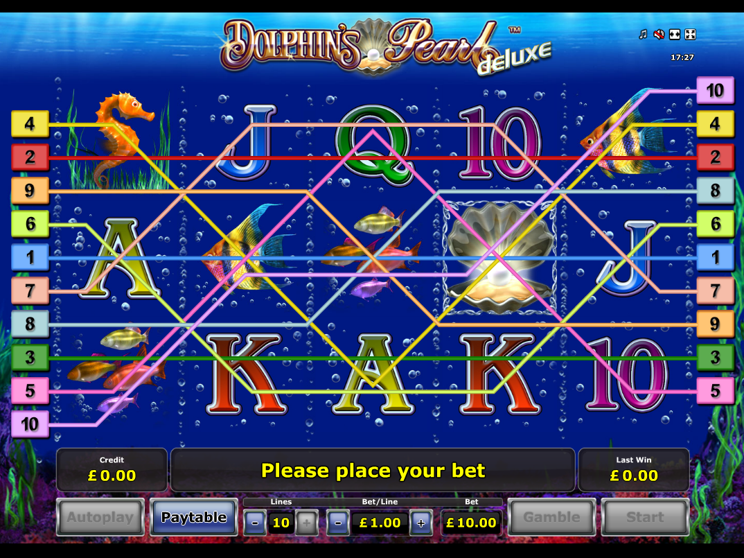 play Dolphin's Pearl Deluxe online