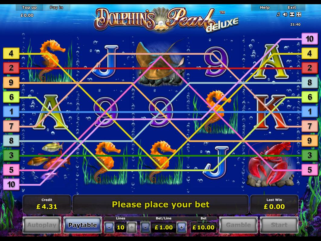Jetzt Dolphin's Pearl Deluxe online spielen