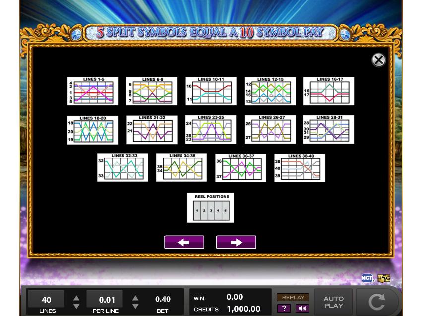 play Double Da Vinci Diamonds online