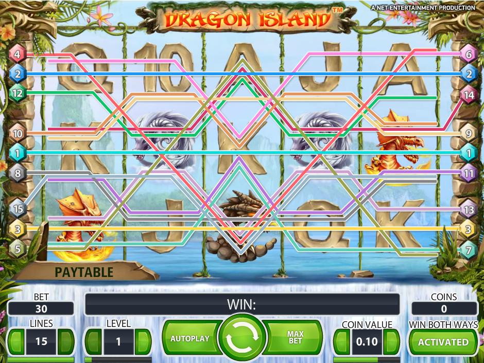 Jetzt Dragon Island online spielen