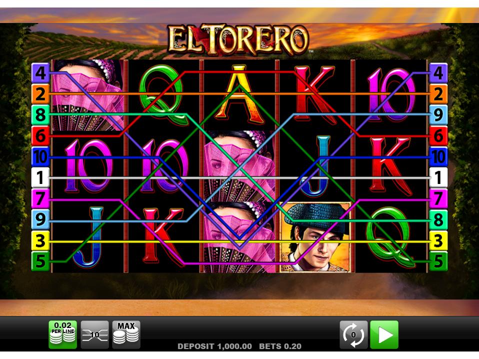 Jetzt El Torero online spielen