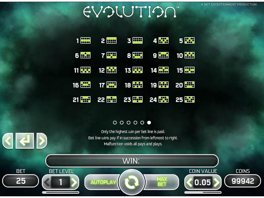 Jetzt Evolution online spielen