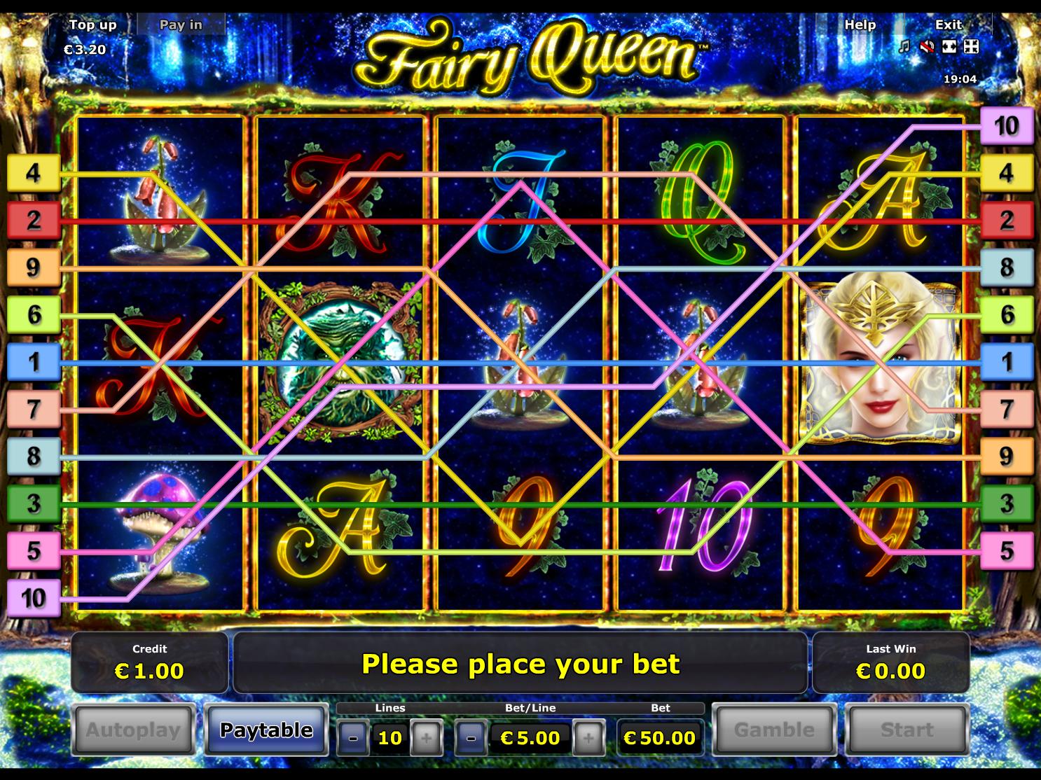 Jetzt Fairy Queen online spielen