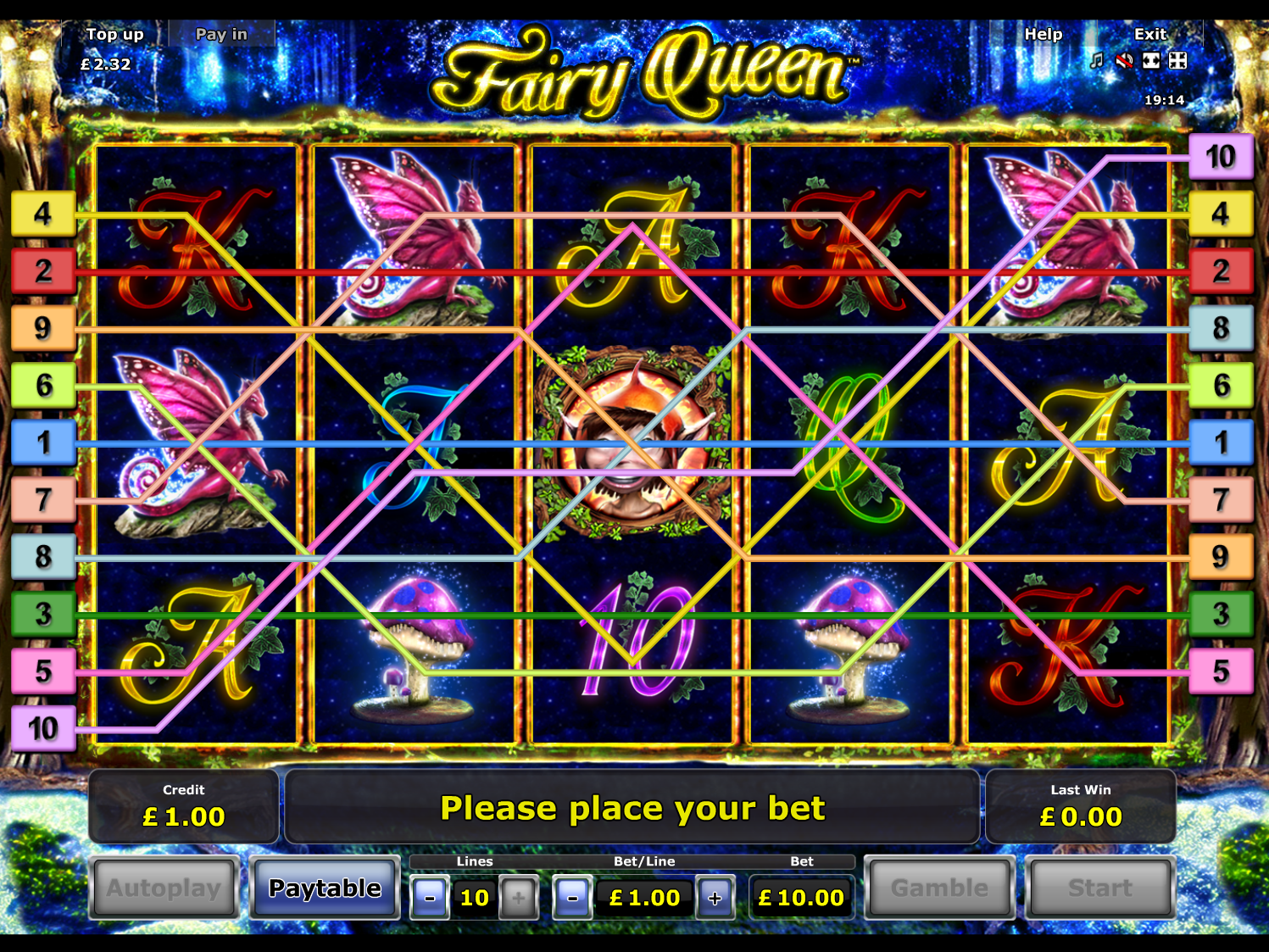 play Fairy Queen online