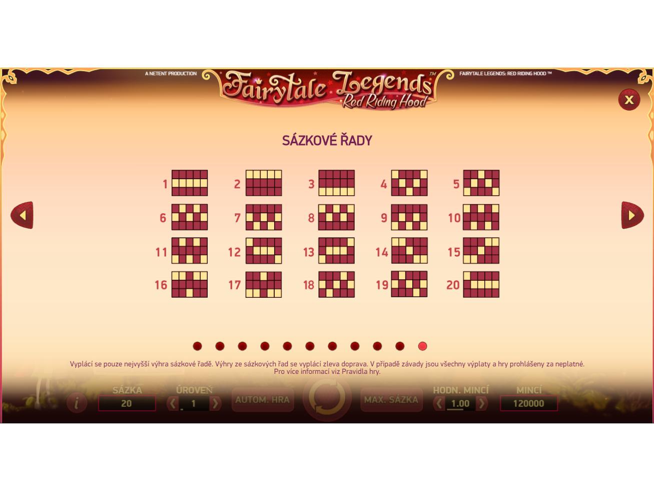 Fairytale Legends: Red Riding Hood online za skutečné peníze#