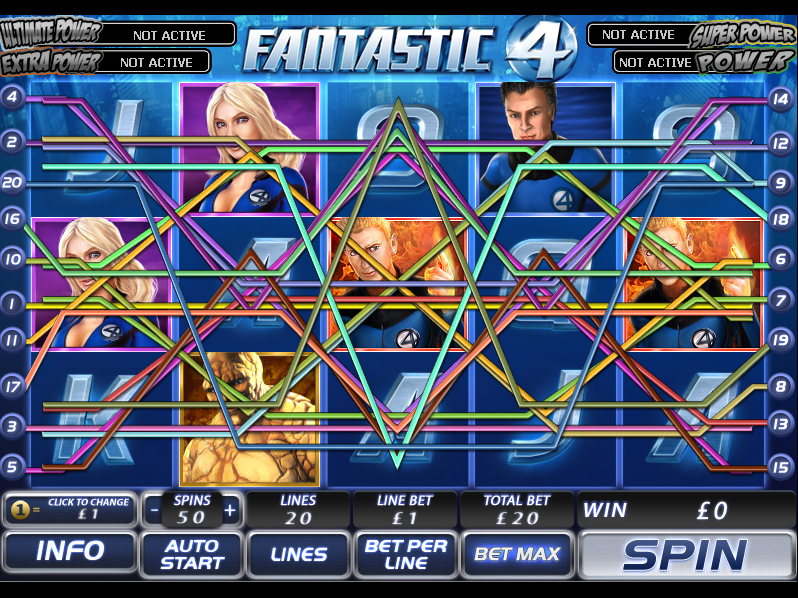 play Fantastic Four online