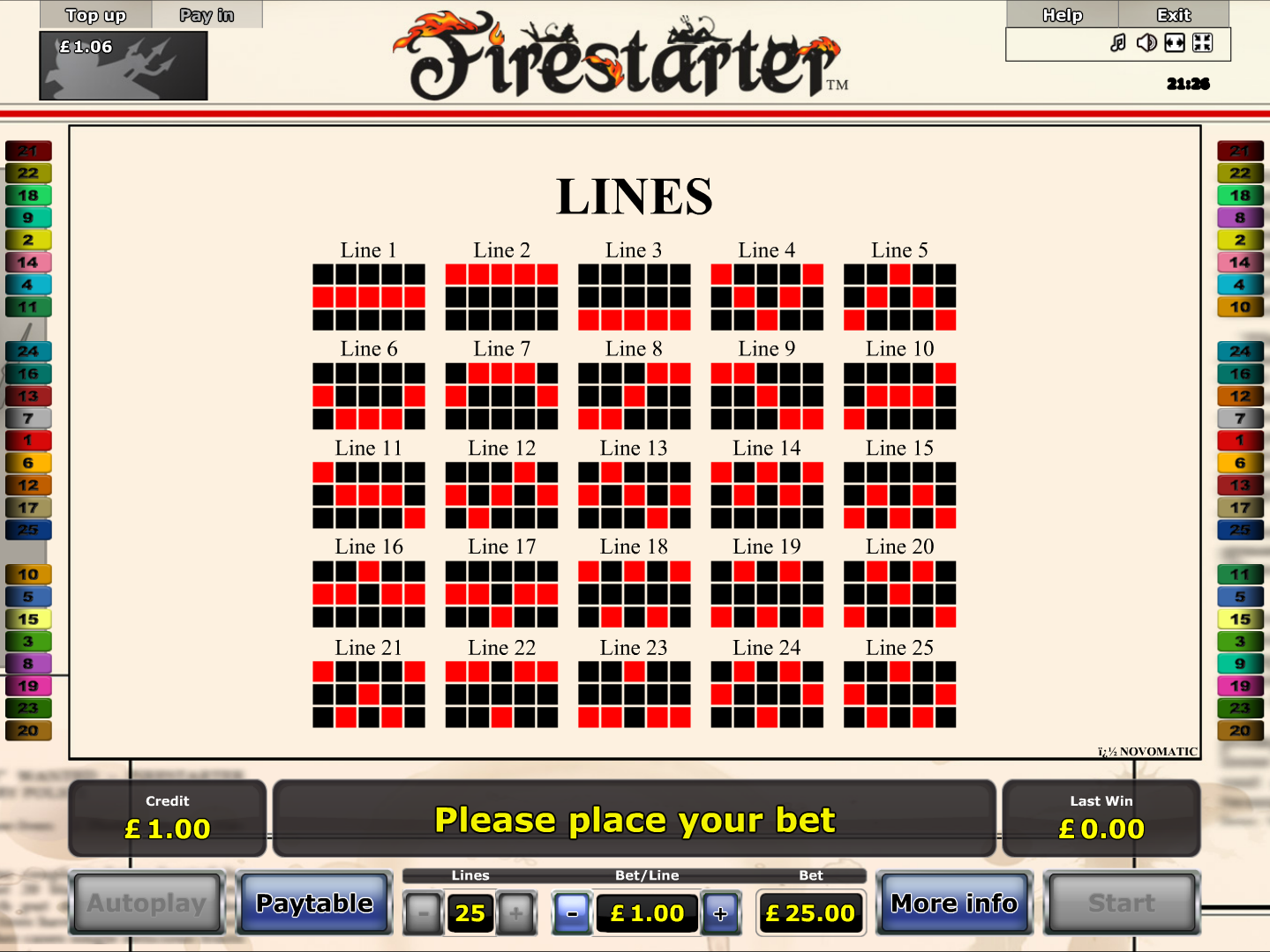 play Firestarter online